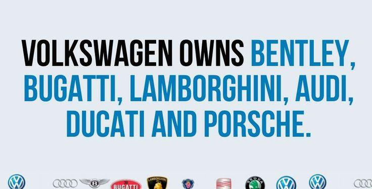 own large companies